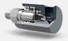 Series RU008 High Speed Air/Hydraulic Rotary Union -- 10050-0801-001 - Image