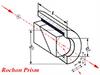 Alpha-BBO Rochon Polarizer -- Z-RHP005 - Image