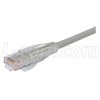 Premium Cat 6 Cable, RJ45 / RJ45, Gray 20.0 ft -- TRD695GRY-20 -Image