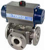3-Way Flanged Valve -- IS-3WF Series -Image