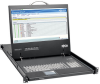 1U Rack-Mount Console with 19 in. LCD, 1920 x 1080 (1080p), DVI or VGA Video, TAA -- B021-000-19-HD2 -- View Larger Image