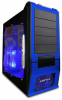 Apevia X-SUPRA G-Type Case w/Window - Blue -- 110101