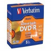 Verbatim UltraLife Gold Archival Grade - 5 x DVD-R - 4.7 GB -- 96320