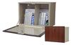 Wood Look Medication Cabinet, Single Door/Single Lock W.. -- WL2717 - Image