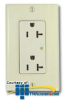 Chatsworth Products Surge-Suppressed Duplex Receptacle -- 12934-001 - Image