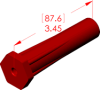 Angle Boot Insulator -- 18080 -- View Larger Image