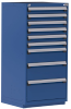 Heavy-Duty Stationary Cabinet , 9 Drawers (30