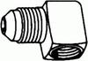 SAE Tube to Pipe Elbow 90° -- 50-04-08 - Image