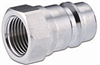 AG Poppet Industry Standard Male Coupler with Female Thread -Image