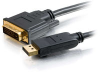 1m DisplayPort™ 1.1 Male to DVI-D™ Male Cable (3.2ft) -- 2226-54183-003 - Image