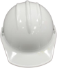 Classic Series Hard Hats - Model C33R full brim hard hat > COLOR - White > STYLE - Ratchet > UOM - Each -- C33WHR -- View Larger Image