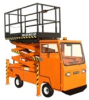 Mobile Scissors Lift, Mortec -- E-480SC