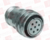 CIRCULAR CONNECTOR PLUG, SIZE 22, 3 POSITION, CABLE MILITARY SPECIFICATION:MIL-DTL-5015 SERIES CIRCULAR CONNECTOR SHELL STYLE:QUICK DISCONNECT PLUG -- MS3107A229S