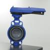 +GF+ PVC Aqua Butterfly Valve Type 563 -- 20832 - Image