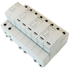 AC Surge Protector SPD I2R-T125 DIN-Rail 230 Vac 3-Phase Wye MOV 100 kA, IEC 61643-11 Class I+II, CE, RoHS -- I2R-T125-4P230 -Image