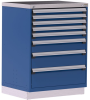Heavy-Duty Stationary Cabinet (with Compartments), 8 Drawers (36