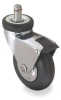 Swivel Stem Caster w/ Brake,15/16