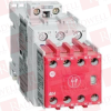 ALLEN BRADLEY 100S-C16D05C ( SAFETY CONTACTOR,16 A,110V 50 HZ / 120V 60 HZ.,3 NORMALLY OPEN POWER POLES,0 NORMALLY OPEN CONTACTS AND 5,LINE SIDE COIL TERMINATION,STANDARD CONTACT ) -Image