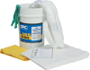 6.5 Gallon Spill Bucket - Oil Only - Absorbency 9 gal/bale - Kit -- 662706-15214