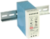 60 Watt Industrial DIN Rail Power Supply -- MDR-60 Series - Image