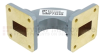WR-75 Waveguide H-Bend Commercial Grade Using UBR120 Flange With a 10 GHz to 15 GHz Frequency Range -- SMF75HB - Image