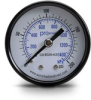 0-200 psi / 0-1400 kPa Pressure Gauge with 2.0 inch mechanical dial -- G20-BD200-4CB - Image