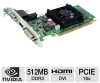 EVGA 512-P3-1300-LR GeForce 8400 GS Video Card - 512MB, DDR3 -- 512-P3-1300-LR