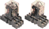 DIN Rail Mounted Mechanical Relays RLM Series