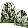 Zebra Print Drawstring Bags -- 49631