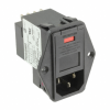 Power Entry Connectors - Inlets, Outlets, Modules -- 7-6609930-6-ND -- View Larger Image