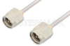 SMA Male to SMA Male Cable 60 Inch Length Using PE-SR405AL Coax -- PE34182LF-60 -Image