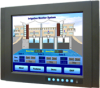 """15"""" XGA Industrial Monitor with Resistive Touchscreen, Direct-VGA, DVI Ports, and Wide Operating Temperature -- FPM-3151G -- View Larger Image"""