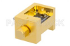 Waveguide Down Converter Mixer WR-12 From 60 GHz to 90 GHz, IF From DC to 18 GHz And LO Power of +13 dBm, UG-387/U Flange, E Band -- PE12D1001 -Image