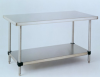 Solid Top Cleanroom Table -- 1305-00 - Image