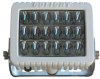 Golight LED Light Emitter - Flood Beam - Trunnion U-Bracket - 18, 4.4-Watt LEDs - 9-32V - 6000 Lumen
