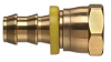 Brass Push-on Fitting - Female Pipe Swivel -Image