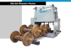 Rail-Fed Locomotive and Railcar Wheelset Washing Plant