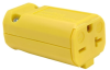 Pass & Seymour® -- MaxGrip M3 Connector, Yellow - PS5469Y