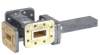 40 dB WR-90 Waveguide Crossguide 3 Port Coupler with CPR-90G Flange from 8.2 GHz to 12.4 GHz in Bronze -- FMWCT1026