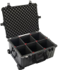 Pelican 1610 Case with TrekPak Dividers - Black | SPECIAL PRICE IN CART -- PEL-016100-0050-110 - Image