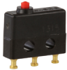 MICRO SWITCH SX Series Subminiature Basic Switch, Single Pole Double Throw (SPDT), 28 Vdc, 7 A, Pin Plunger Actuator, Solder Termination, Military Part Number M8805/109-01 -- 91SX39-T -Image