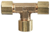 Brass Compression T-connectors -- GO-31412-17
