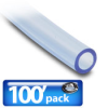 TUBING, PUR, 3/8 IN OD, CLR BLUE, 100 FT PACKAGE -- PU38CBL100
