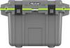 Pelican 50 Qt Elite Cooler - Dark Gray with Green Trim | SPECIAL PRICE IN CART -- PEL-50Q-1-DKGRYEGRN -Image