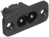 Power Entry Connectors - Inlets, Outlets, Modules -- 486-2204-ND - Image