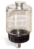 "(Formerly B1748-13), Oil Reservoir, 1 pt Polycarbonate, 3/8"" Male NPT, Pipe Mount -- B1748-0167B1W -Image"