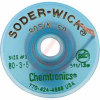 Chemical,Desoldering Braid,Rosin,Esd Safe,5 Foot Bobbin,.080 Inch/1.9mm Green -- 70206164