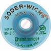 Chemical,Desoldering Braid,Rosin,Esd Safe,5 Foot Bobbin,.080 Inch/1.9mm Green -- 70206164