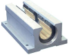 Straight Bearing, Open Twin Pillow Block -- DryLin® R - OJUI-13-XXTW -Image