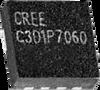 1.7-A, 600-V, Z-Rec® Schottky, 3.3-mm QFN package -- C3D1P7060Q